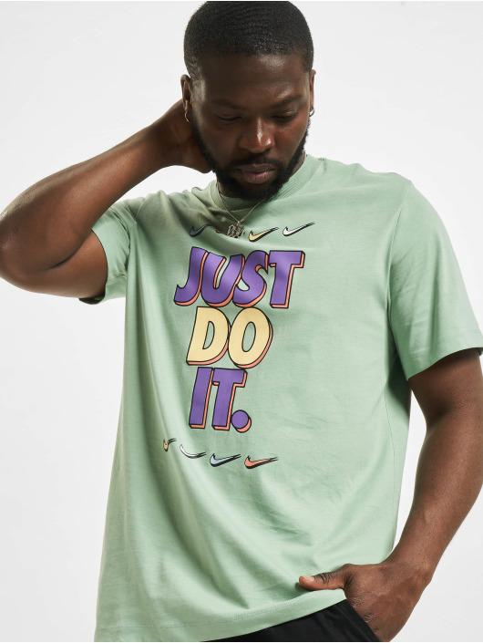 Nike T-paidat Just Do It vihreä