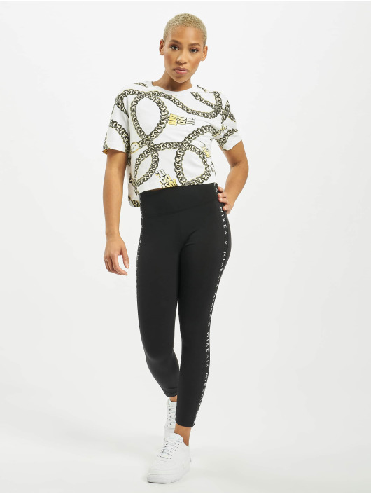 Nike T-shirt Glam Dunk bianco