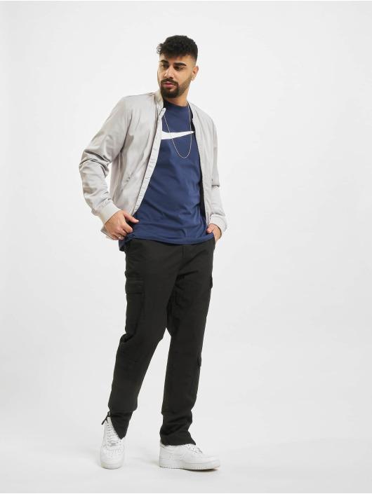 Nike T-shirt Swoosh blå