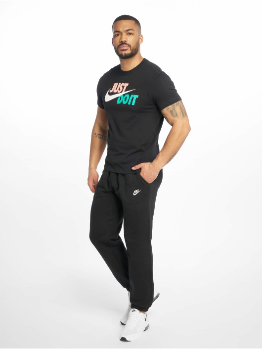 Nike T-Shirt Just Do It Swoosh black