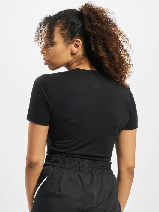 Nike T-Shirt Slim Crop LBR black