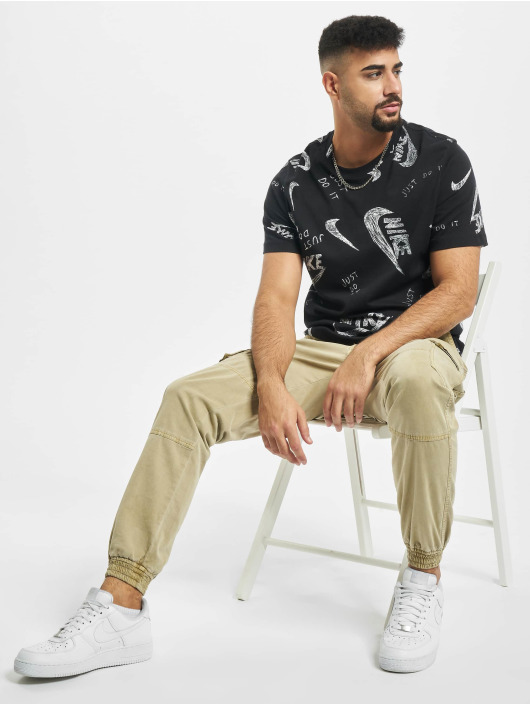 Nike T-Shirt AOP black