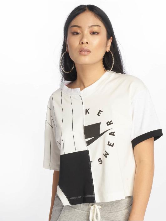 Femme 581420 shirt Sportswear T Nike Blanc 80NnXOkwP