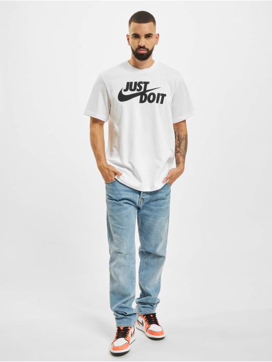 Nike T-Shirt Just Do It Swoosh blanc