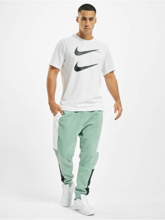 Nike T-Shirt Swoosh PK 2 blanc