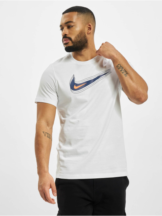 Nike T-Shirt M Nsw Swoosh 12 Month blanc