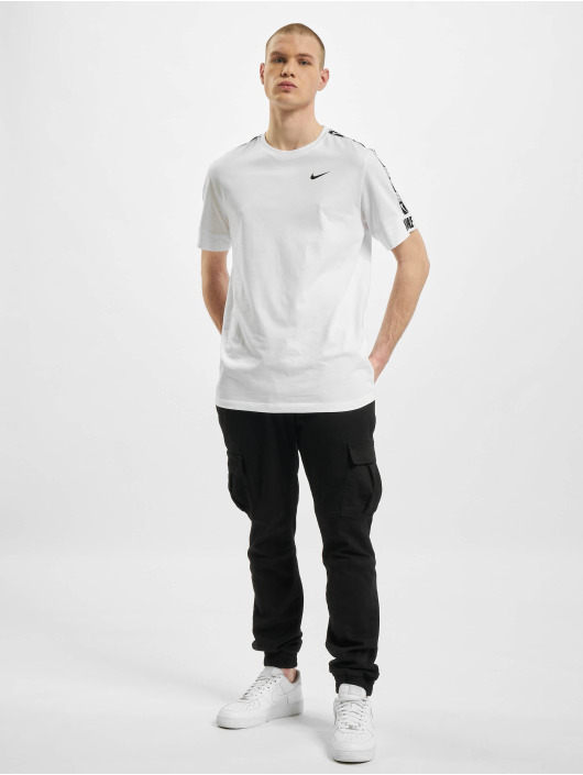 Nike T-Shirt M Nsw Repeat Ss blanc