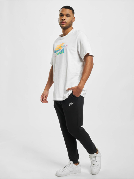 Nike T-Shirt M Nsw Sp Brandmarks Hbr blanc