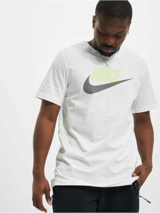 Nike T-Shirt M Nsw Alt Brand Mark 12Mo blanc
