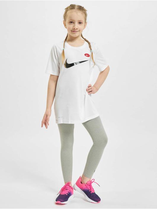 Nike T-Shirt Dry Soccer AOP blanc