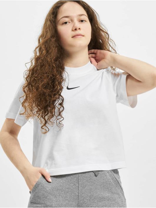 Nike T-Shirt Essntl Boxy blanc