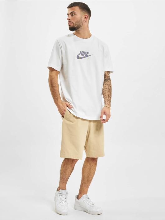 Nike T-Shirt Multibrand blanc