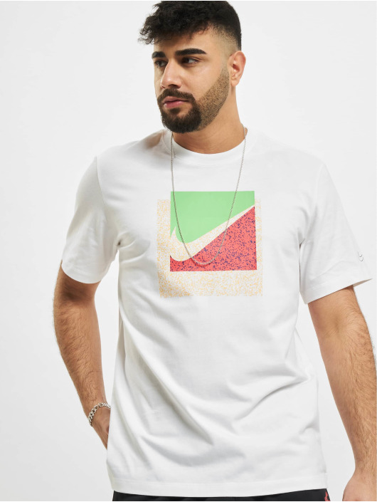 Nike T-Shirt Swoosh Box blanc