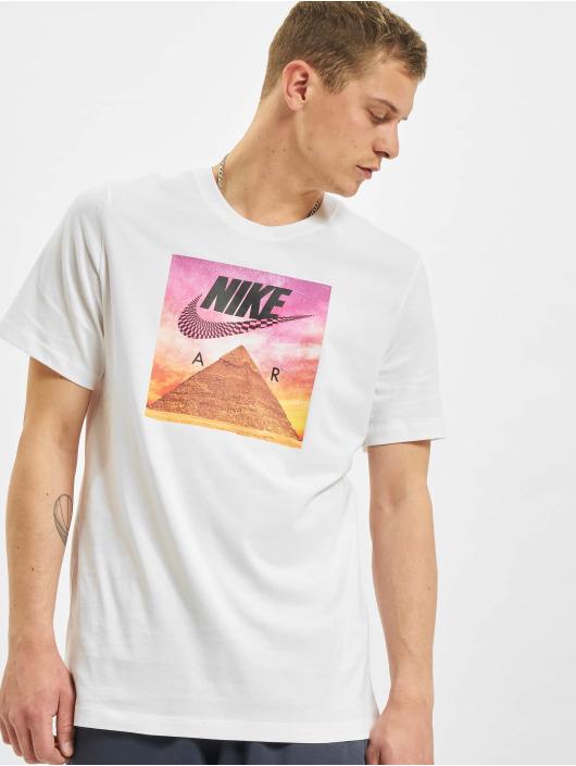 Nike T-Shirt Festival Photo blanc