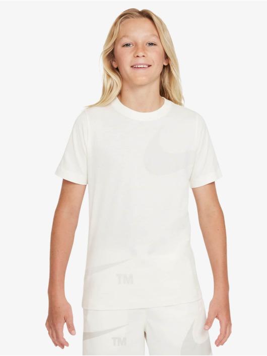 Nike T-Shirt Swoosh blanc
