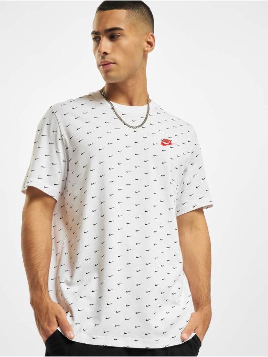 Nike T-Shirt Mini Swoosh blanc
