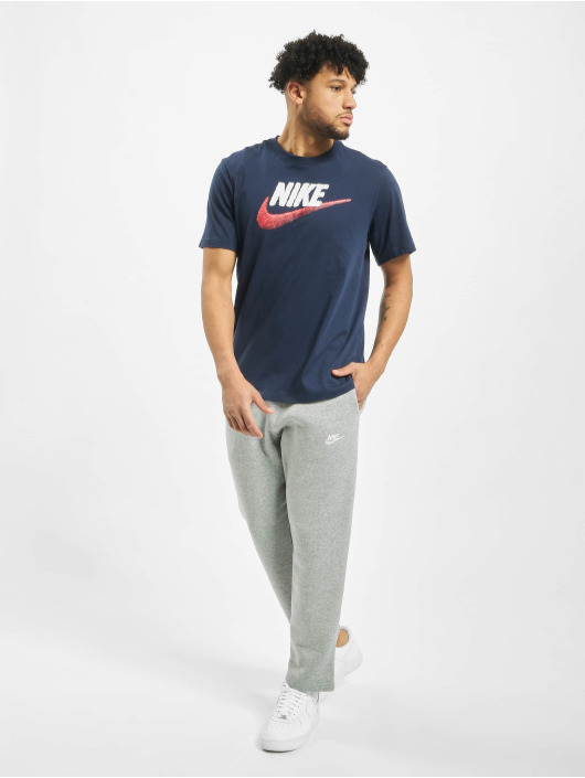 Nike T-Shirt Brand Mark blau