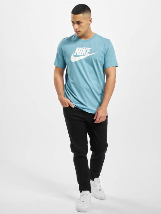 Nike T-Shirt Icon Futura blau
