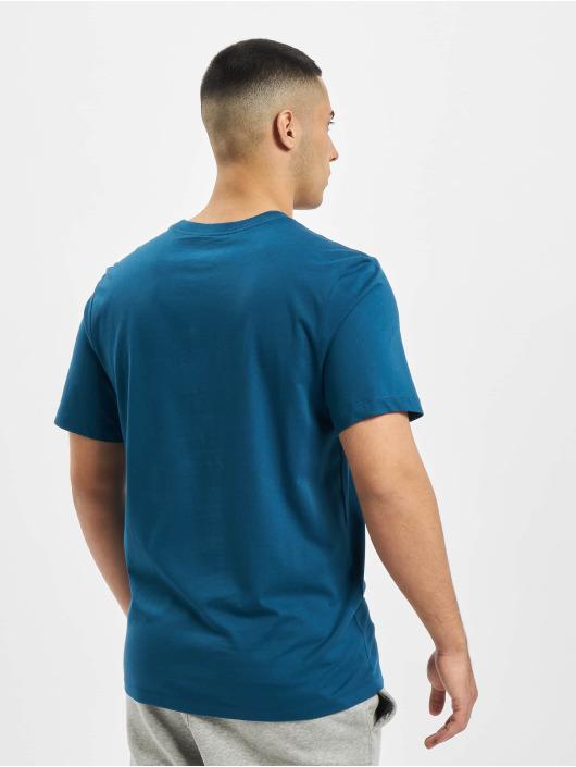 Nike T-Shirt Swoosh HBR blau