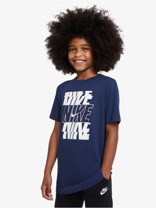 Nike T-Shirt Stack blau