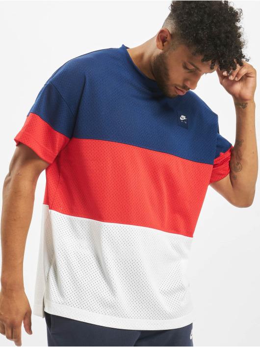 Nike t-shirt Air Knit blauw