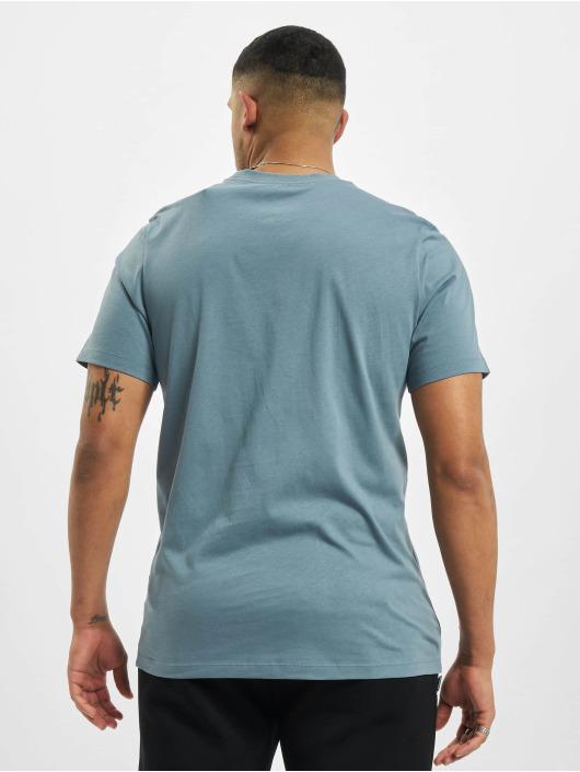Nike t-shirt Club blauw