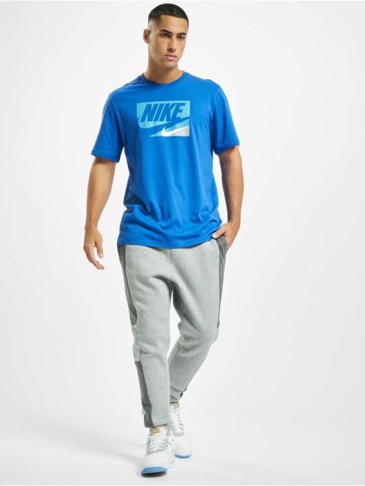 Nike t-shirt Sportswear blauw