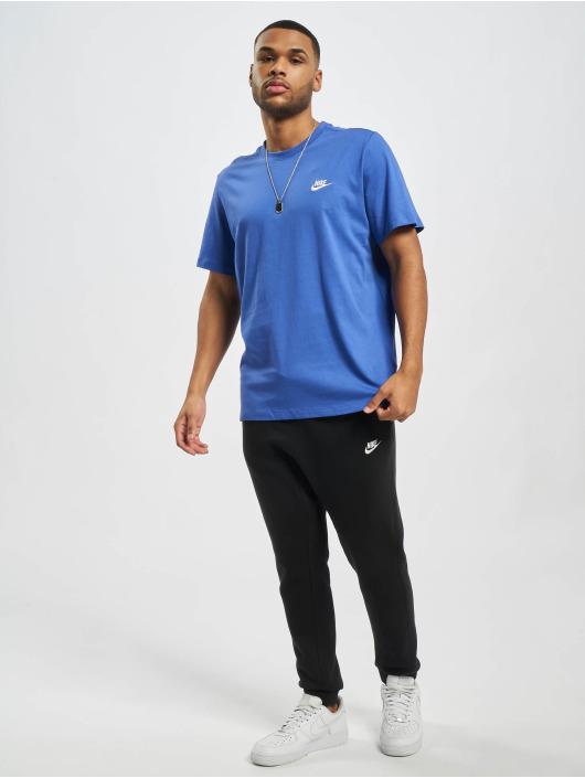 Nike t-shirt M Nsw Club blauw