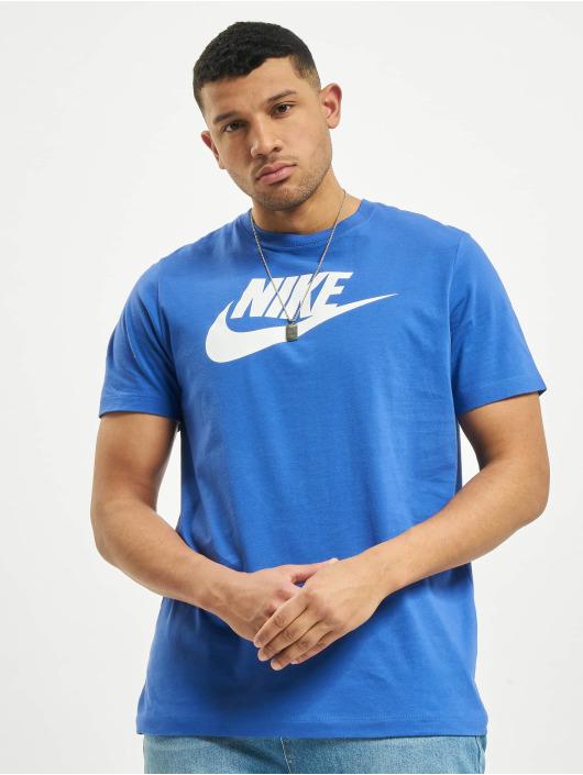 Nike t-shirt M Nsw Icon Futura blauw
