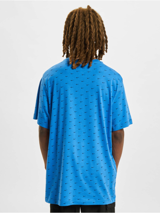 Nike t-shirt Mini Swoosh blauw