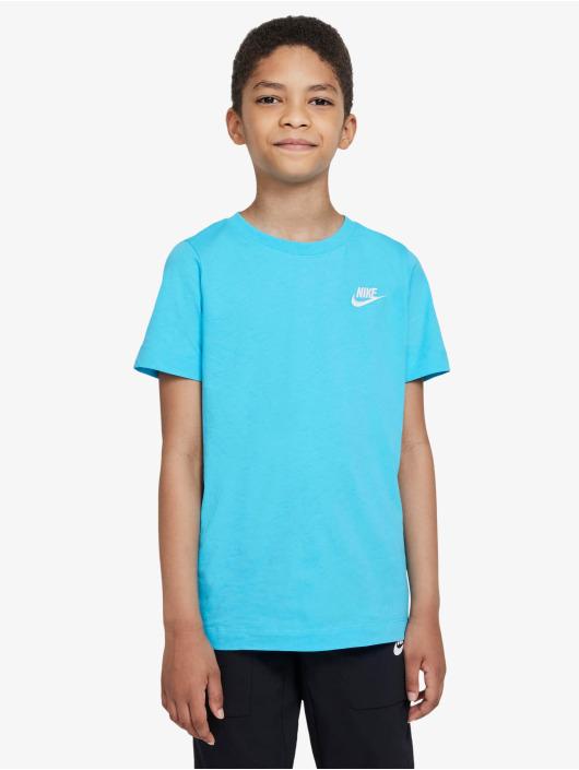 Nike T-Shirt Futura blue