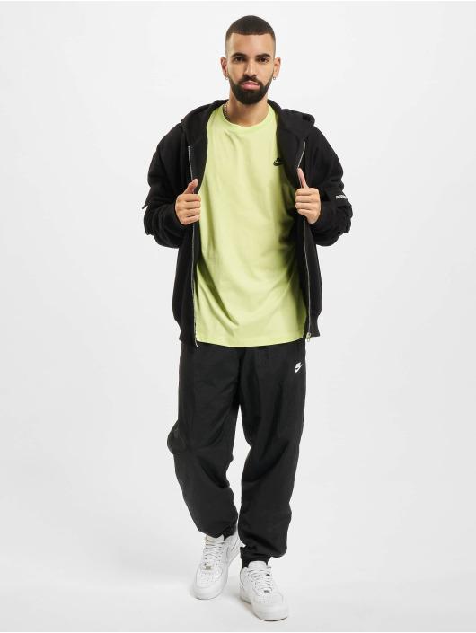 Nike t-shirt Club geel