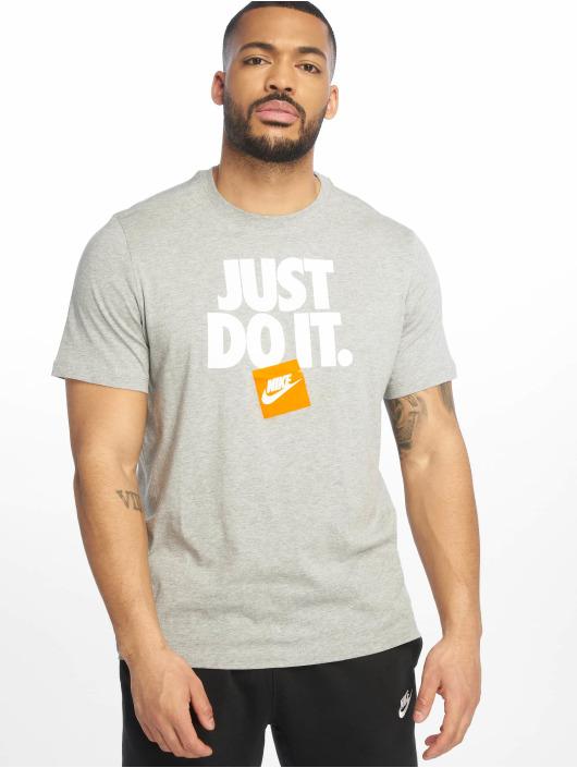 Nike T-Shirt HBR 3 grau