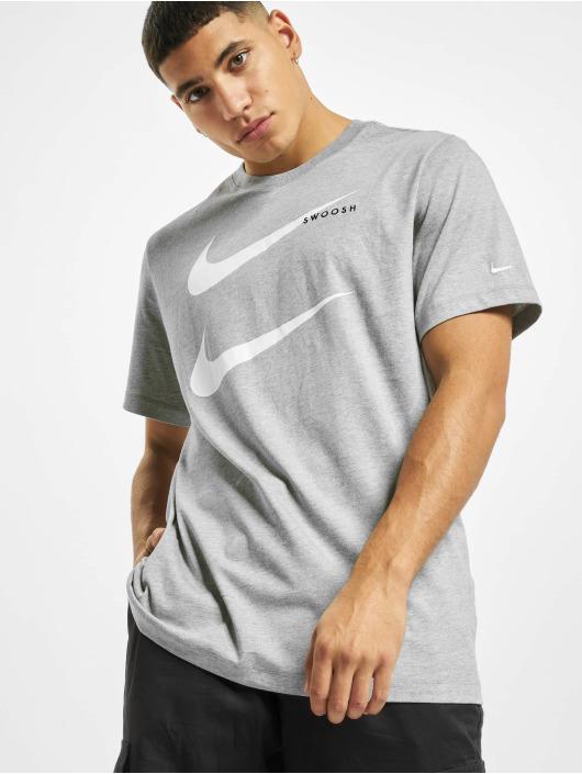 Nike T-Shirt Swoosh PK 2 grau