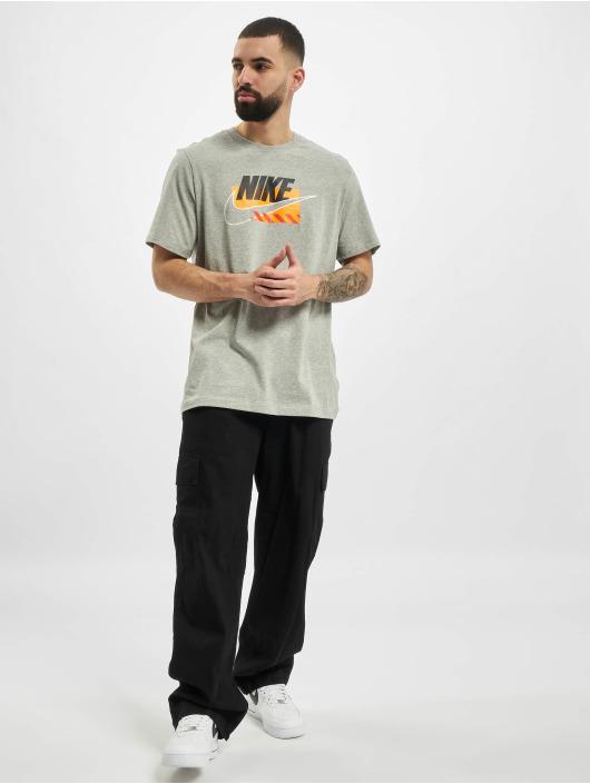 Nike T-Shirt M Nsw Sp Brandmarks Hbr grau