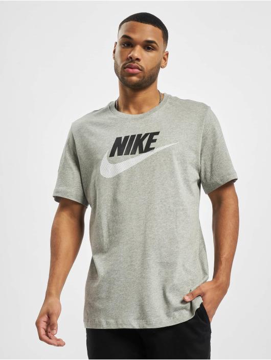 Nike T-Shirt M Nsw Alt Brand Mark 12Mo grau