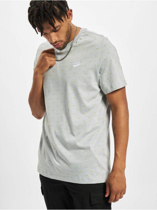 Nike T-Shirt Mini Swoosh grau