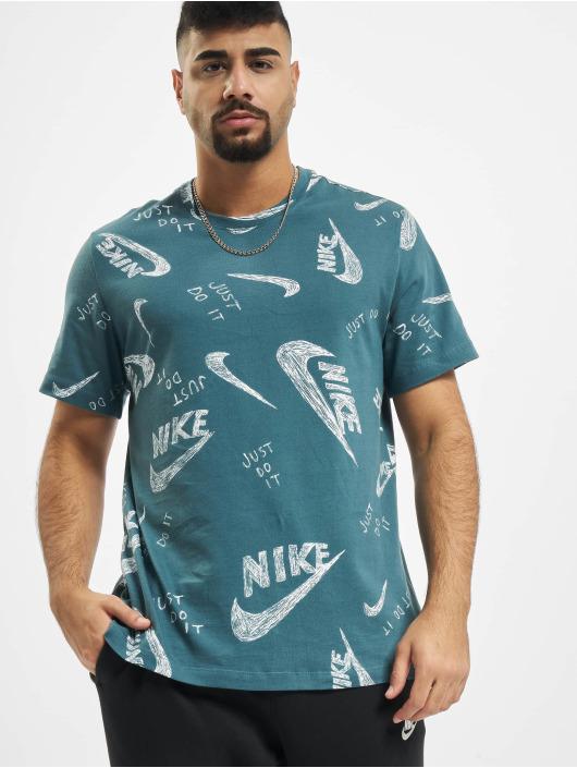 Nike T-Shirt AOP green