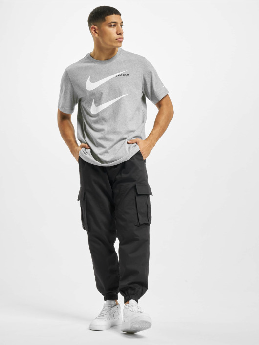 Nike T-Shirt Swoosh PK 2 grey