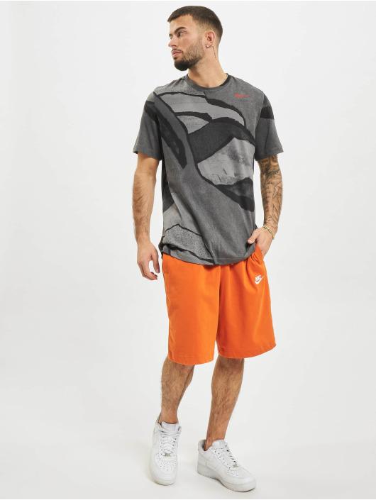 Nike T-Shirt Dri-Fit Seasonal All Over Print gris
