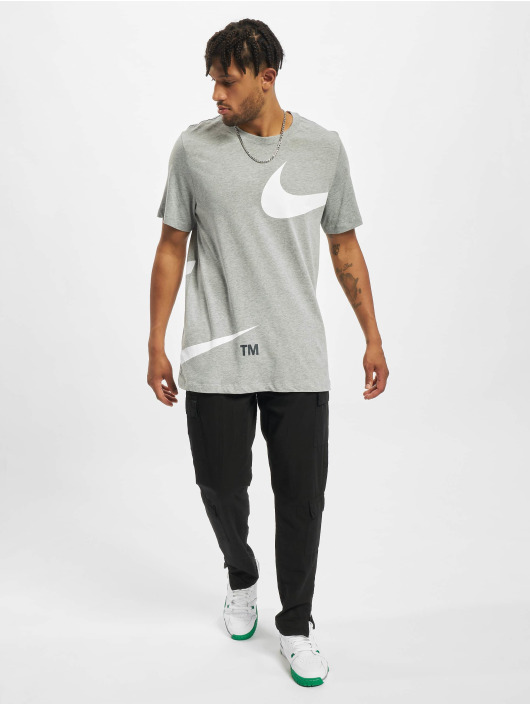 Nike T-Shirt Swoosh gris