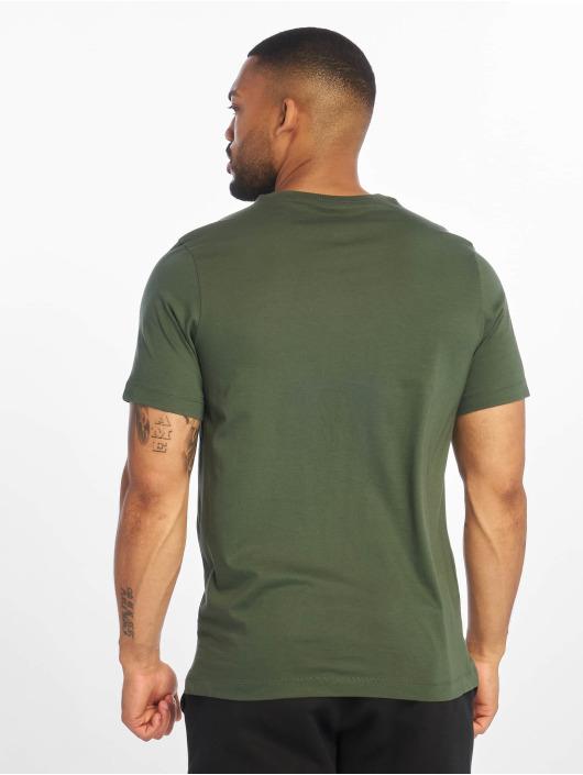 Nike t-shirt Club groen