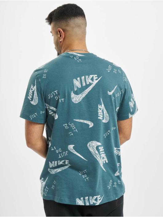 Nike T-Shirt AOP grün