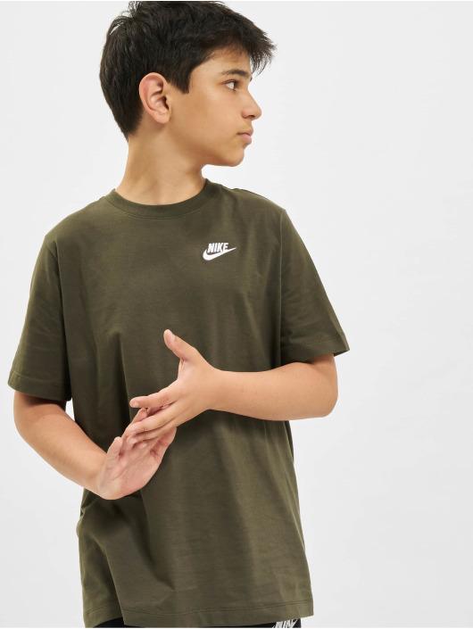 Nike T-Shirt Futura khaki