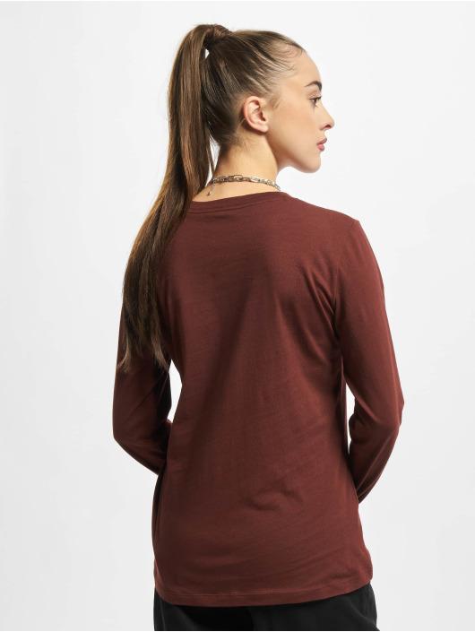 Nike T-Shirt manches longues NSW Icon FTR brun