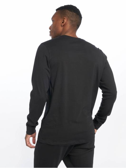 Nike T-Shirt manches longues Club LS noir