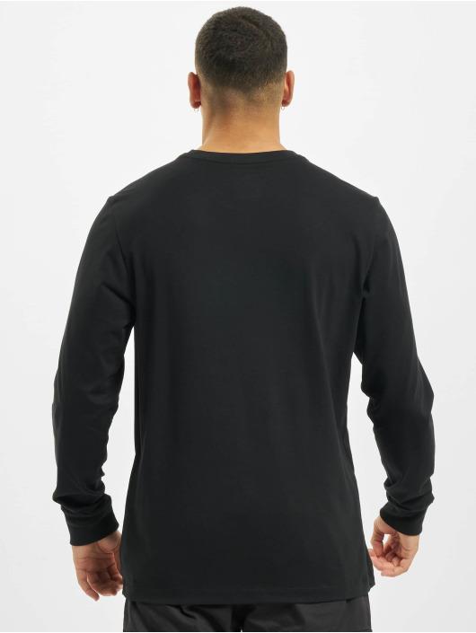 Nike T-Shirt manches longues JDI Cut Out LBR noir