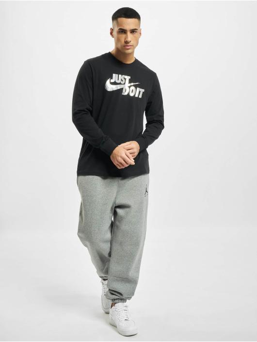 Nike T-Shirt manches longues Sportswear Brnd Mrk Foil noir