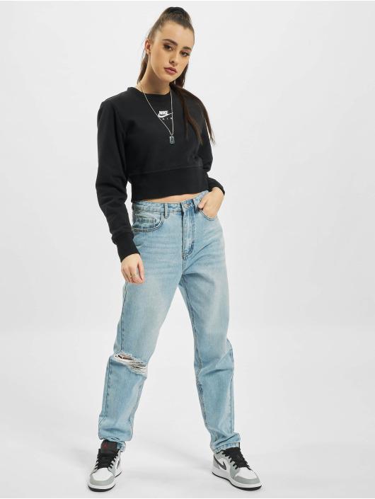 Nike T-Shirt manches longues Air Crew Fleece noir