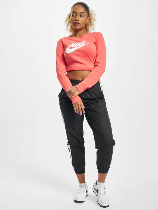 Nike T-Shirt manches longues Essntl Icon orange